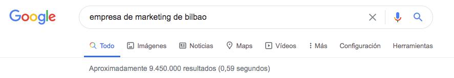 Empresa de marketing de Bilbao